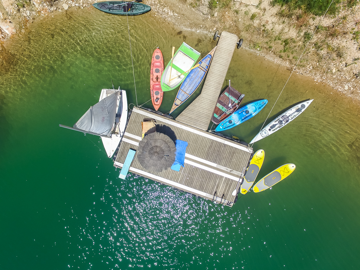A wide selection of boats to choose from …
