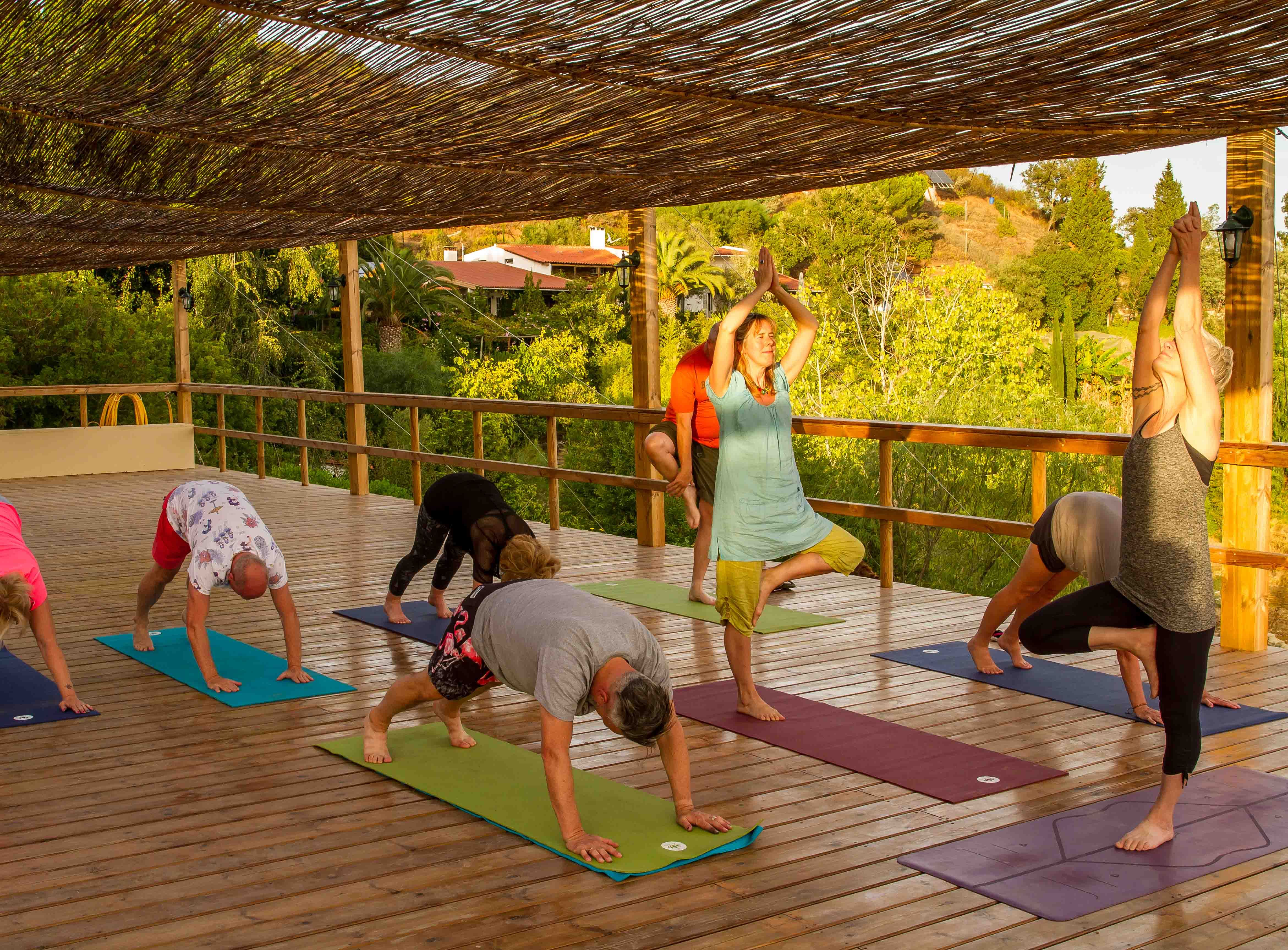 A large Yoga Shala either for groups or individuals